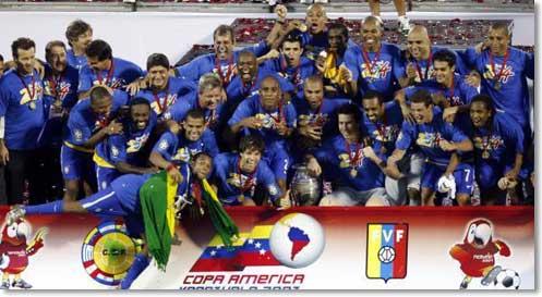 Brasil Campeão Argentina Copa America