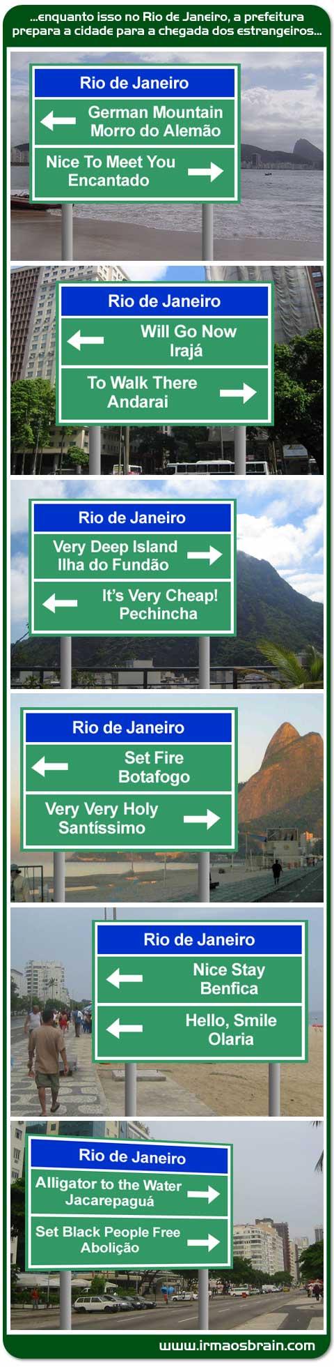 Placas Rio de Janeiro