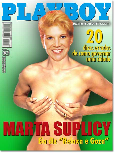 Playboy Marta Suplicy