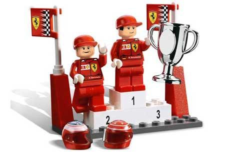 Rubinho Barrichello Rubens Schumacher Lego Ferrari