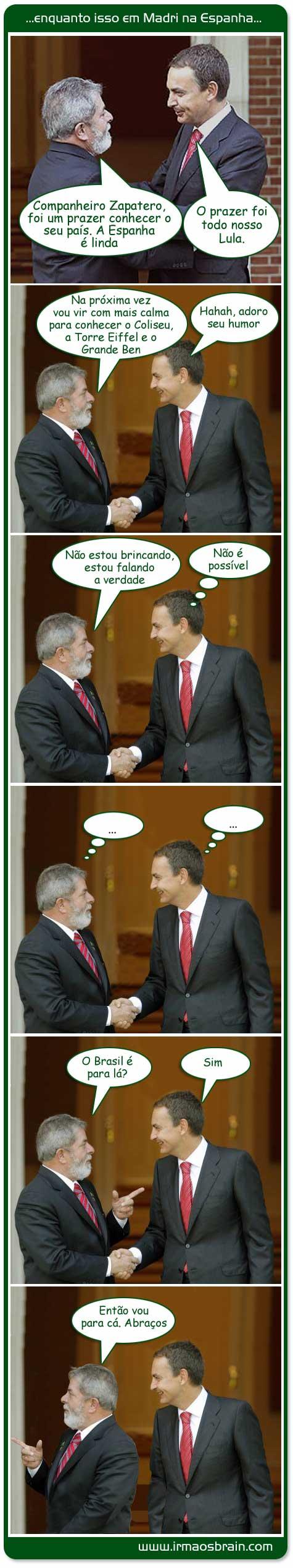 Lula Espanha