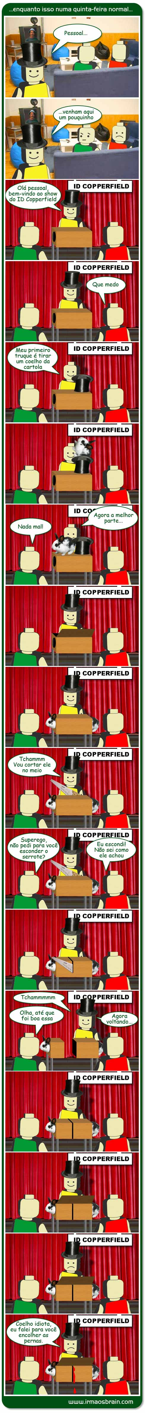 Irmaos Brain Copperfield