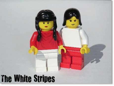 Banda The Write Stripes Lego