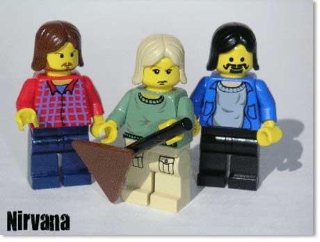 Nirvana Lego