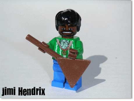 Jimi Hendrix Lego