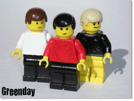 Greenday Lego