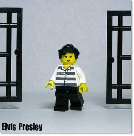 Elvis Presley Lego