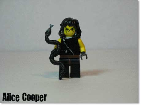 Alice Cooper Lego