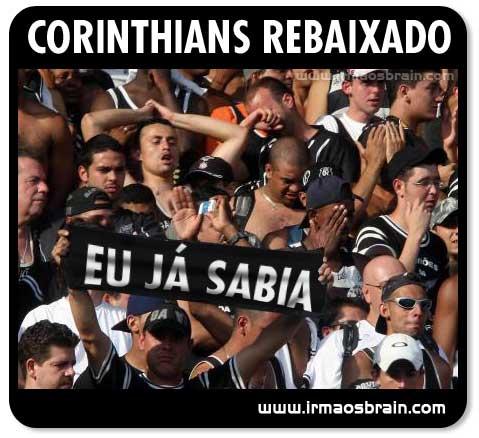 Corinthians rebaixado