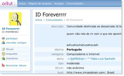 Orkut Id