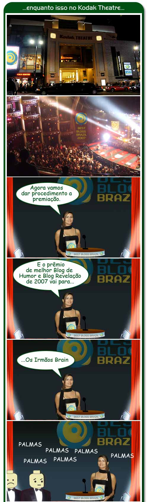 premiacao final 1 And the BBB goes to...