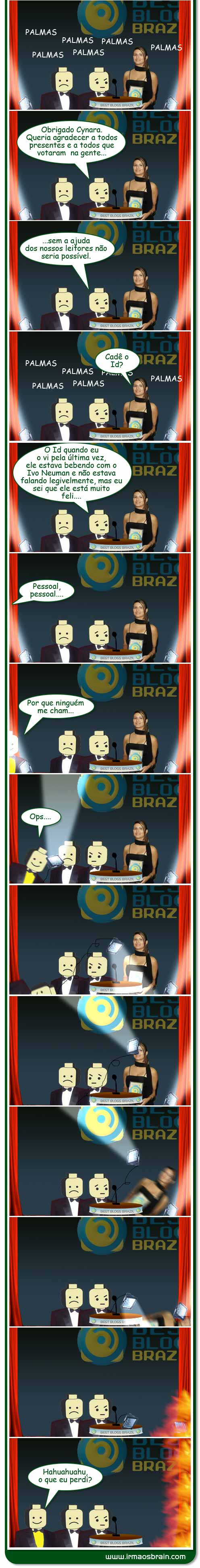 premiacao final 2 And the BBB goes to...