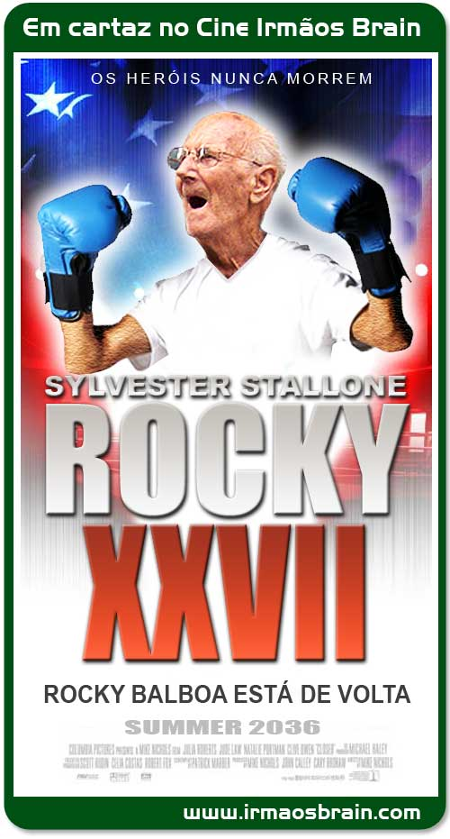 Sylvester Stallone Rocky XXVII Rocky Balboa está de volta
