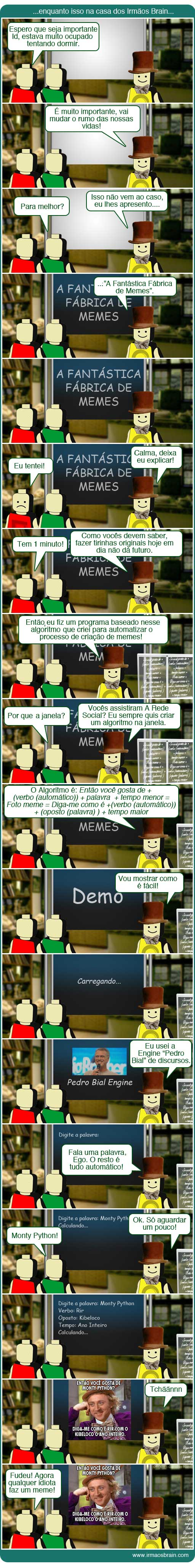 A Fantástica Fábrica de Memes