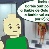 Ego procurando uma Barbie