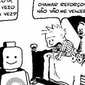 Metalinguagem: Calvin e Haroldo