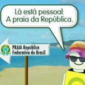 Praia República Federativa do Brasil