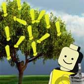 A árvore de exclamações
